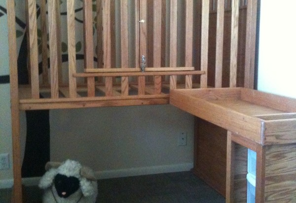 Wheelchair Accessible Crib And Changing Table - Disabled changing table